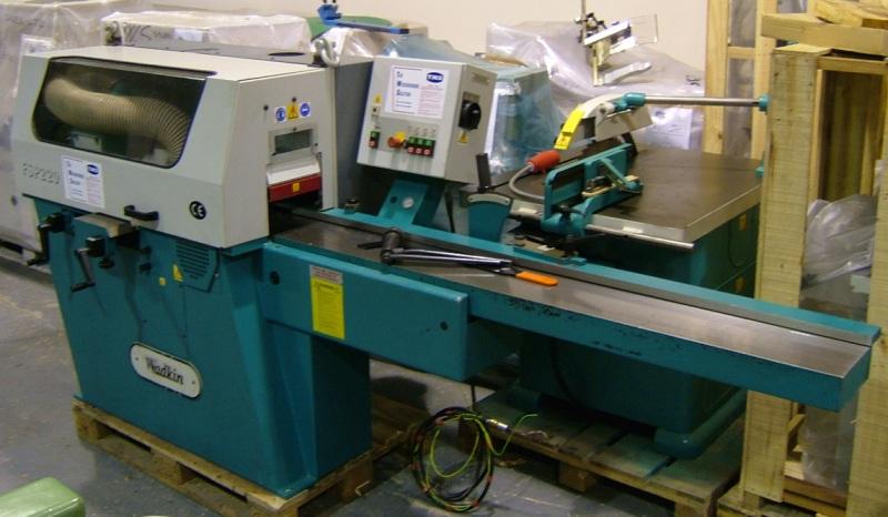 Wadkin FSP 220 four sided planer woodworking machine