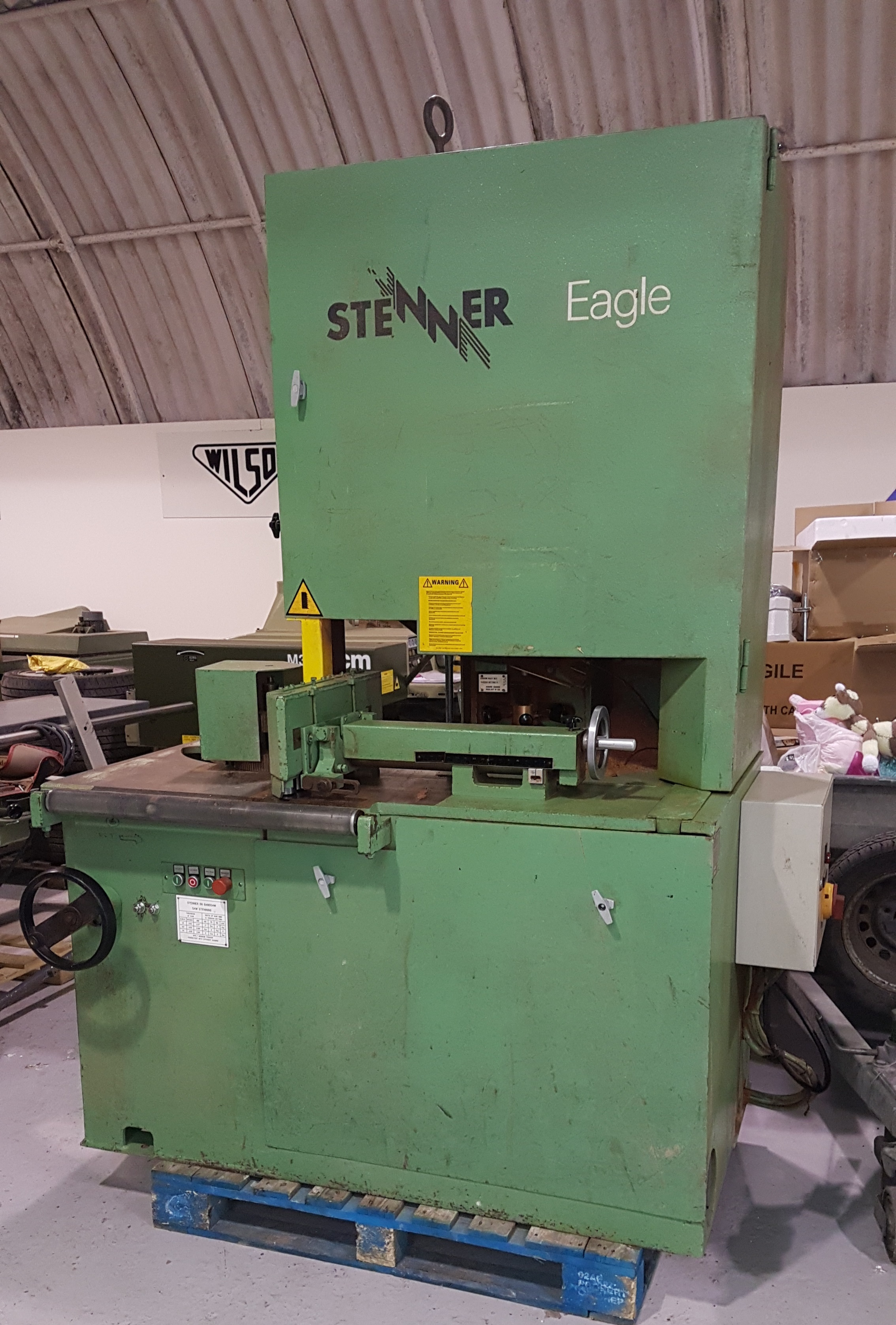 Stenner eagle band resaw woodworking machine