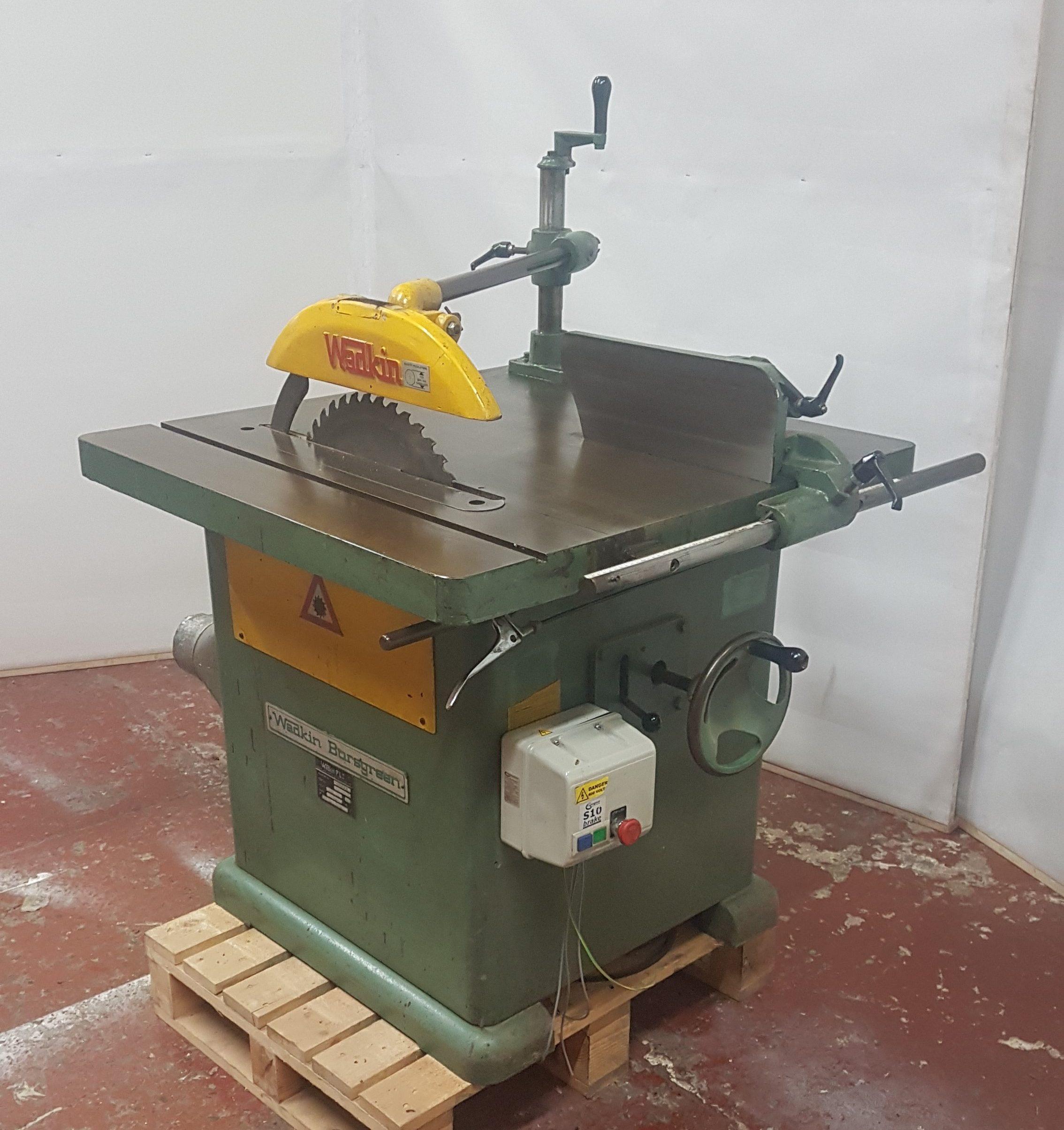 "Wadkin 20"" BSW Ripsaw woodworking machine"