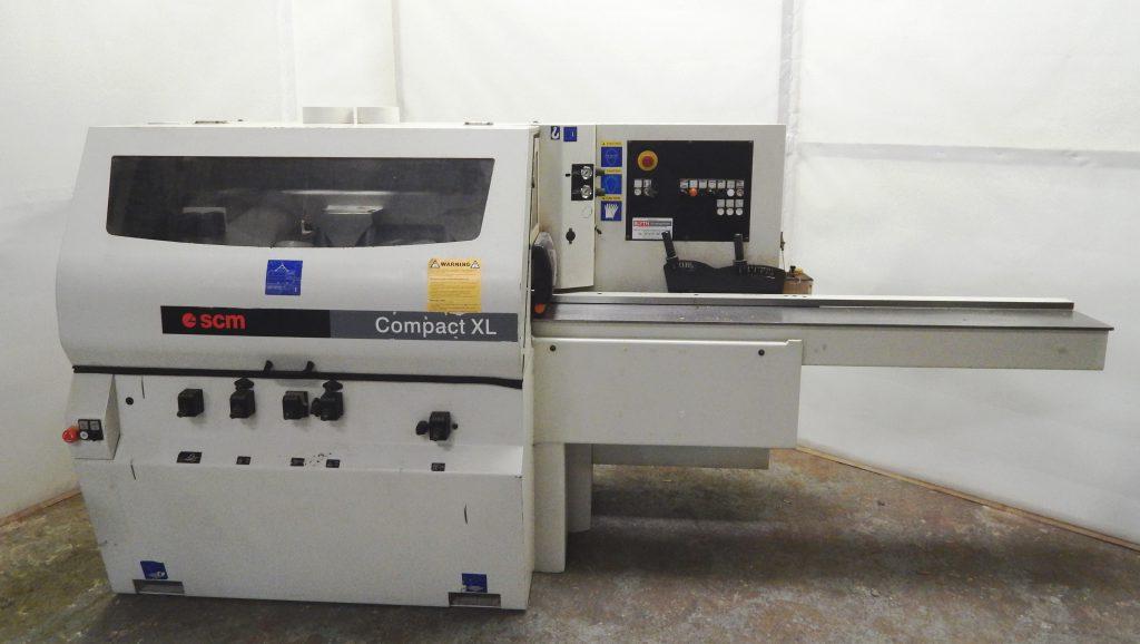 SCM Compact XL P four sided planer moulder