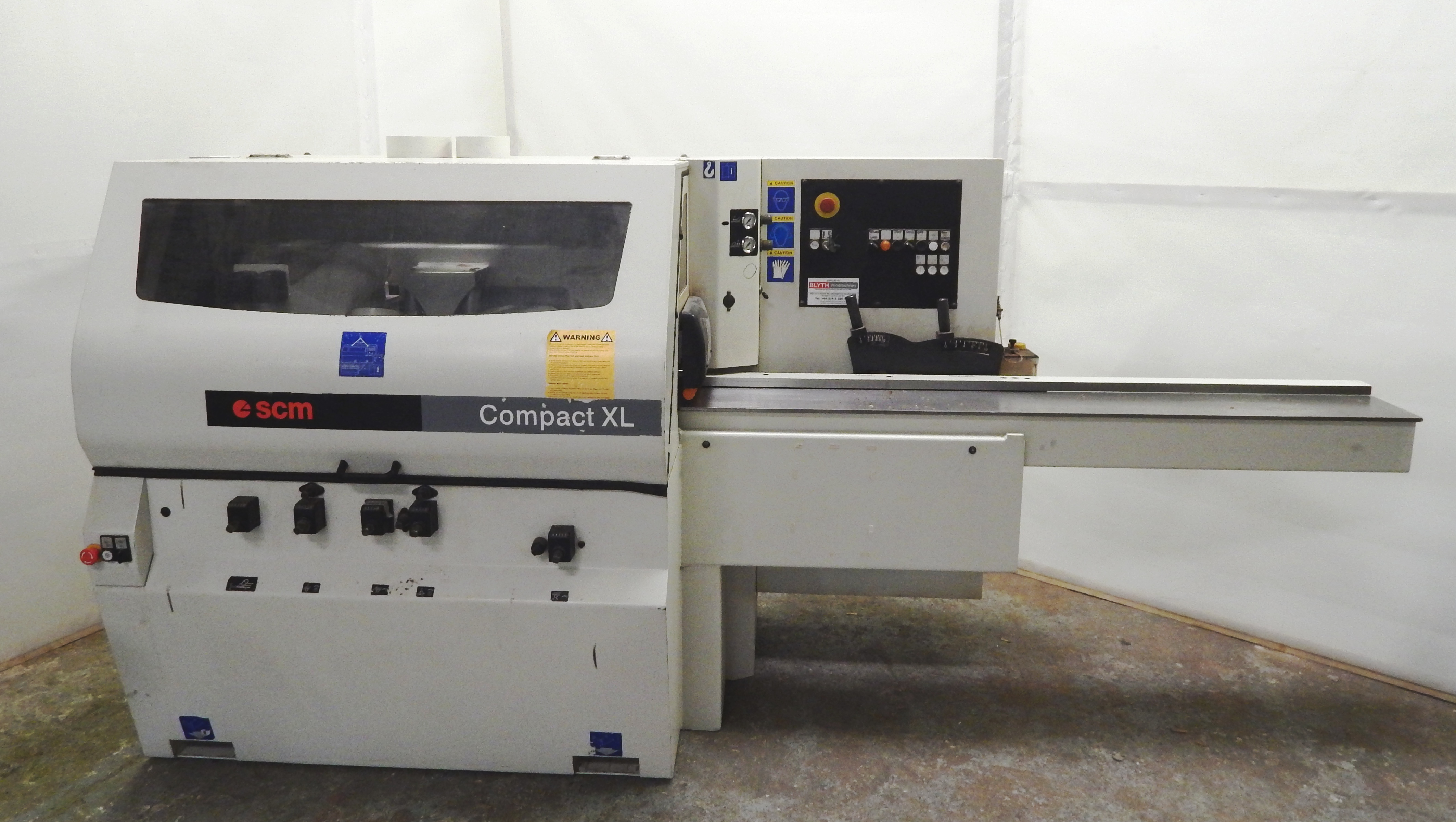 SCM Compact XL P four sided planer moulder