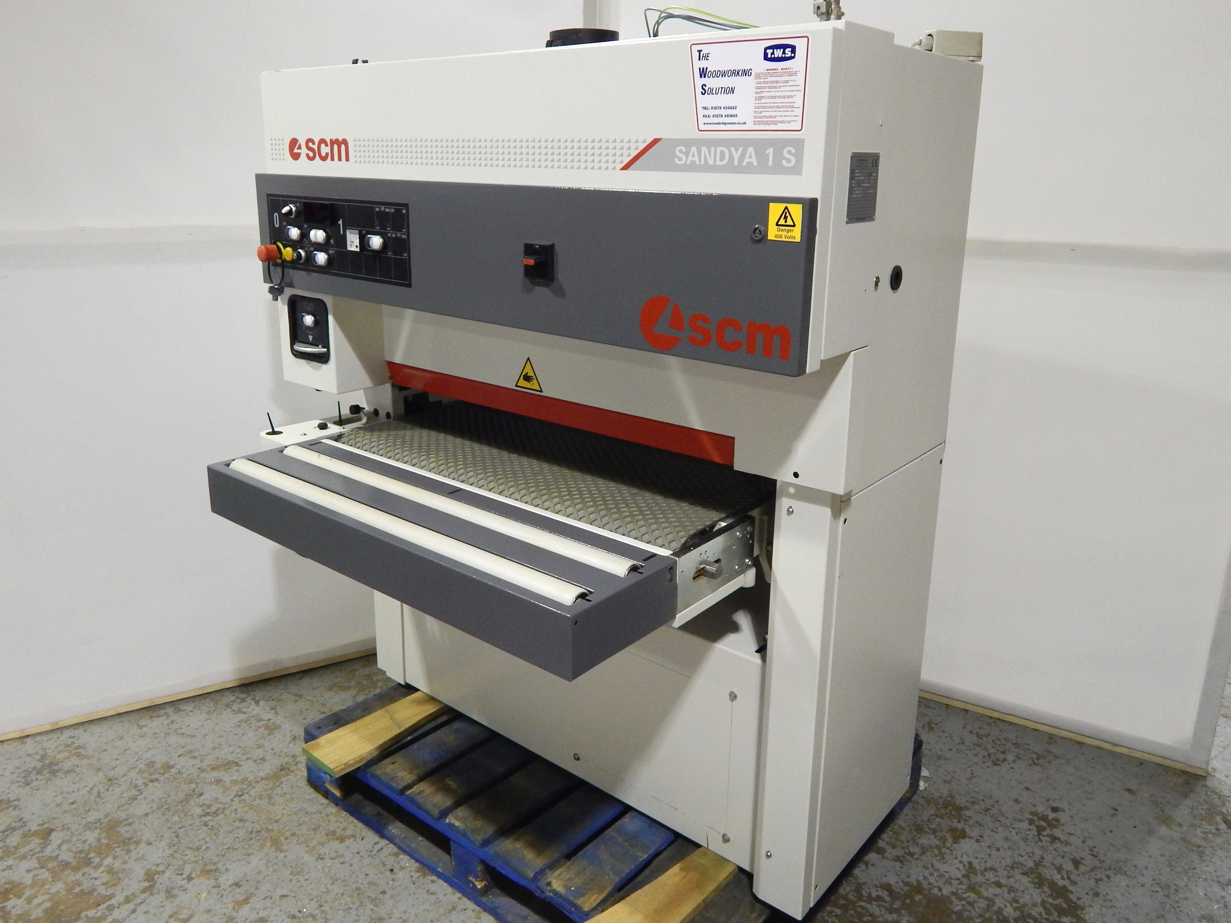 scm sandya 1s wide belt sander woodworking machine