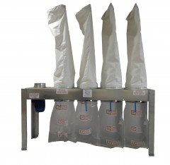 New Air Plants D3000 4 Bag Dust Unit