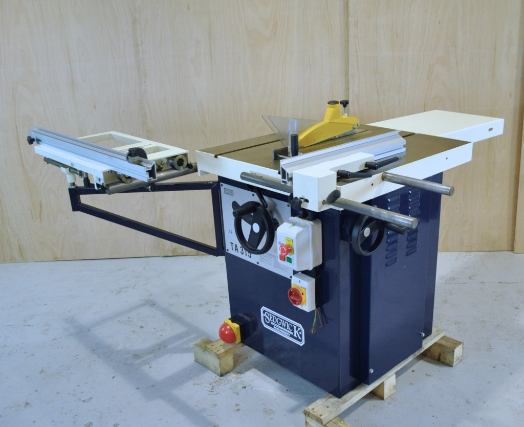 Sedgwick 240v Ripsaw Ta315 Commercial Table Saw Tws