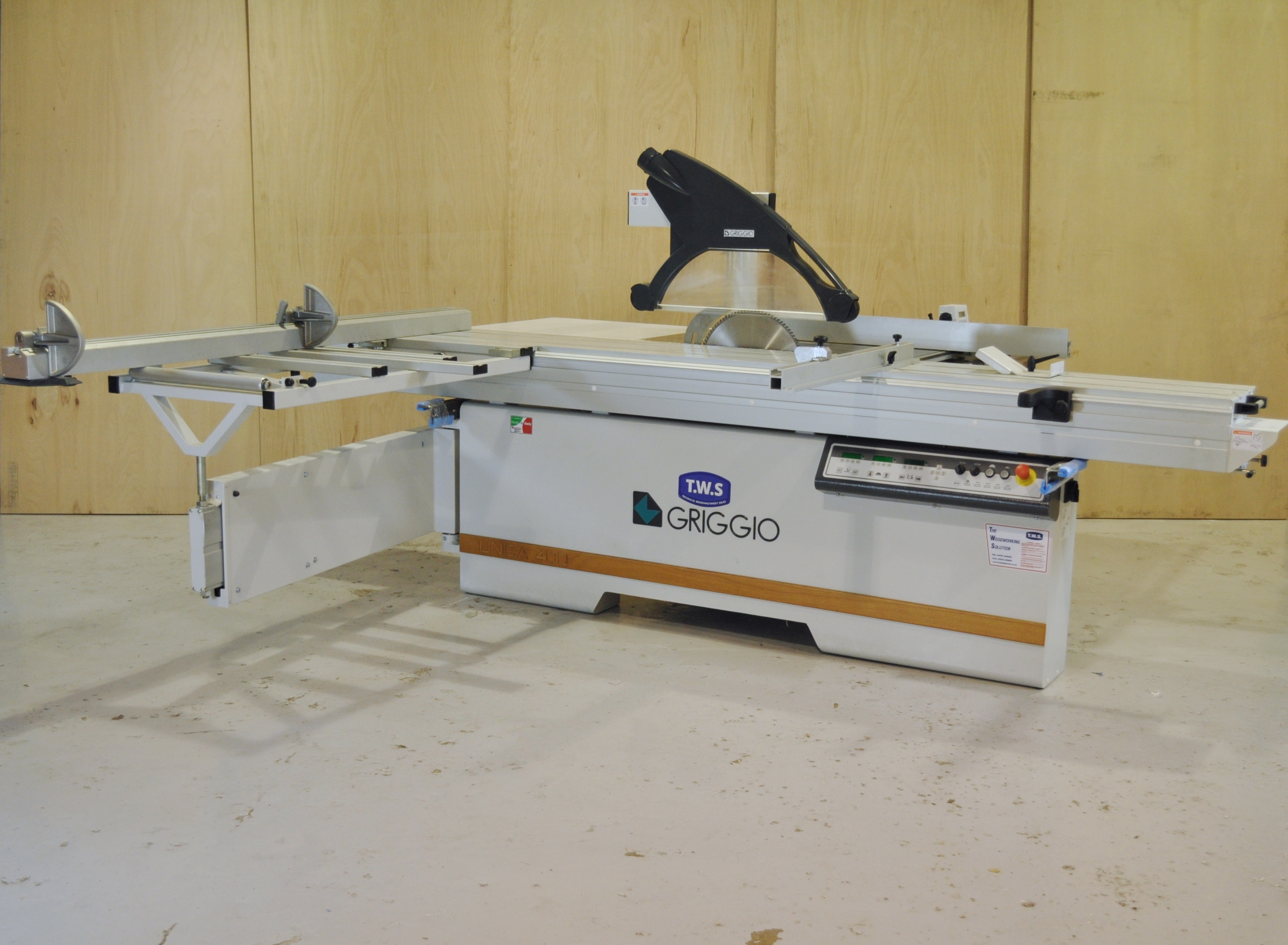 New Griggio Unica 400E Panelsaw woodworking machine