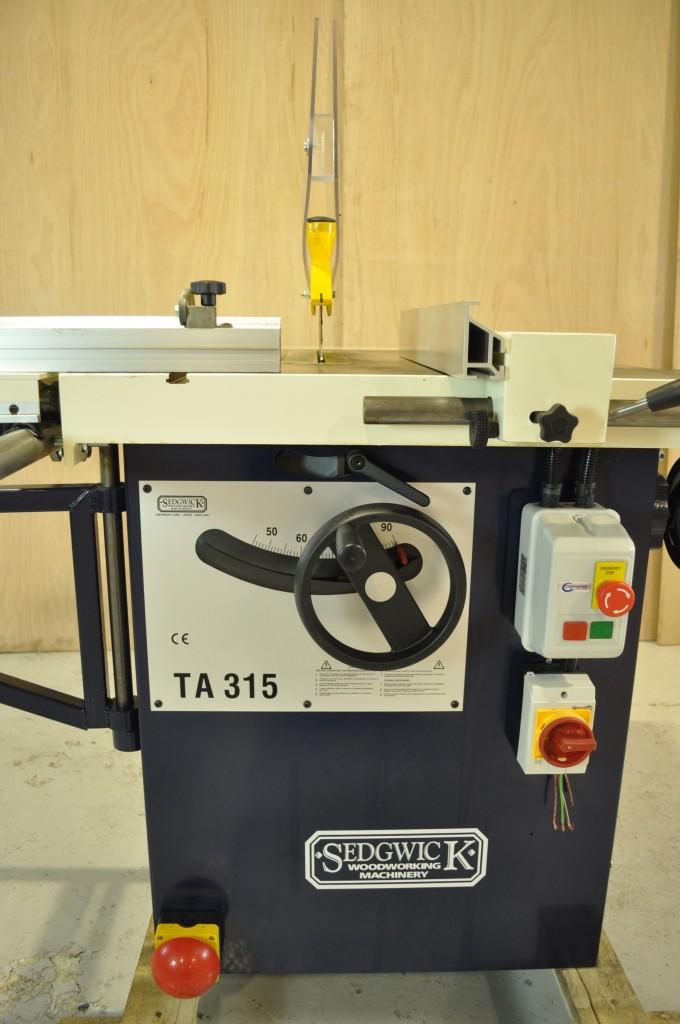 New Sedgwick Ta315 Ripsaw Woodworking Machines
