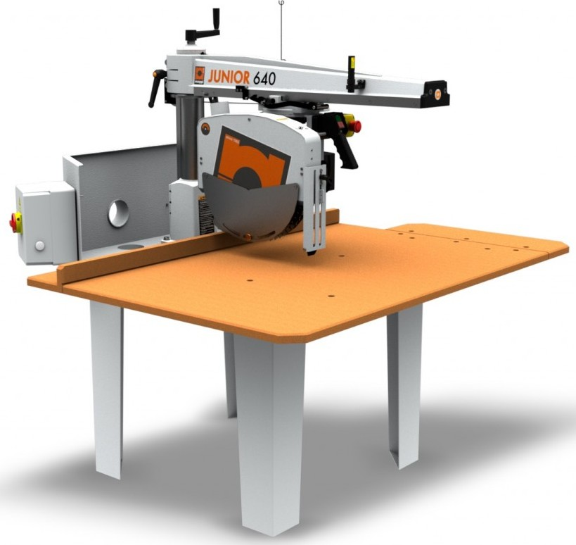 New Maggi J640 Radial Arm Crosscut Saw Top Specification