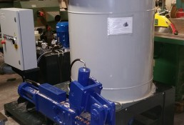 Just in from Preston College a Felder FBP Briquette machine