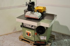 Wadkin BEM Spindle moulder with New 3 roller power feed