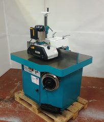 Wadkin BEM Spindle Moulder with a 3 roller Power feed
