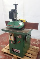 Dominion BCY Spindle moulder and 3 roller power feed