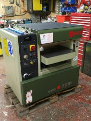 SCM S520 Thicknesser